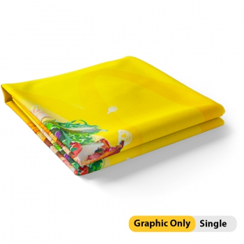 DisplayRabbit - ELASTO Tube - 10'x8' - Straight - Graphics Only Single